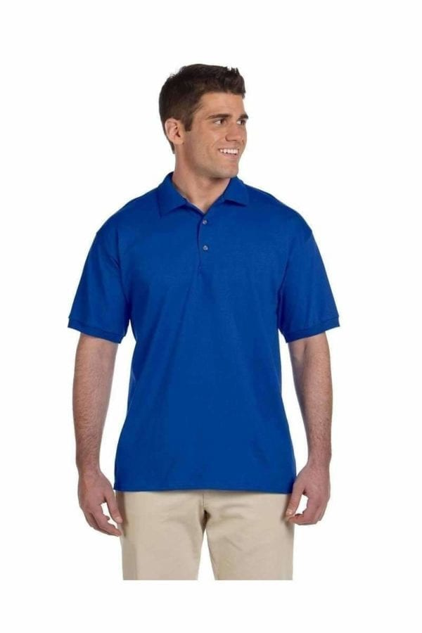 bulk custom shirts gildan g280 ultra cotton 6oz custom polo royal