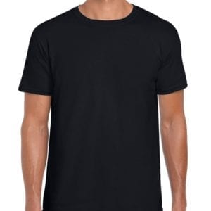 bulk custom shirts gildan g640 custom softstyle 4.5 oz t shirt black