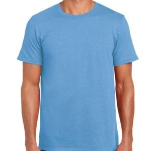 bulk custom shirts gildan g640 custom softstyle 4.5 oz t shirt carolina blue