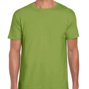 bulk custom shirts gildan g640 custom softstyle 4.5 oz t shirt kiwi
