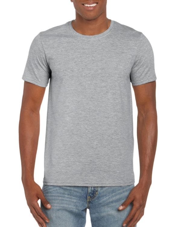 bulk custom shirts gildan g640 custom softstyle 4.5 oz t shirt rs sport grey