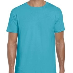 bulk custom shirts gildan g640 custom softstyle 4.5 oz t shirt tropical blue