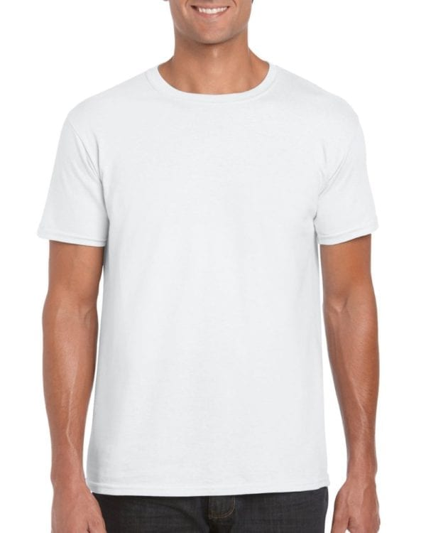 bulk custom shirts gildan g640 custom softstyle 4.5 oz t shirt white