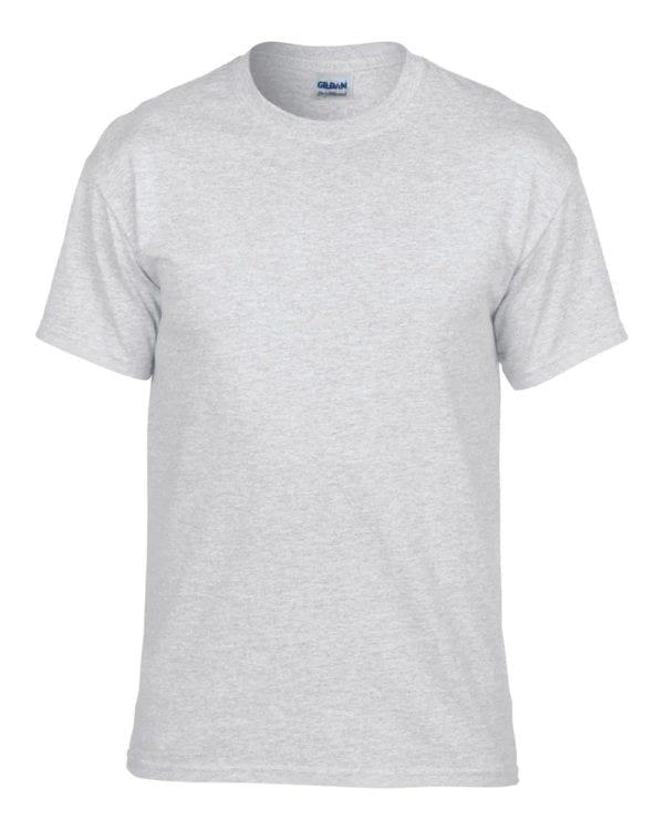 bulk custom shirts gildan g800 50-50 5.5 oz personlized t-shirts ash grey
