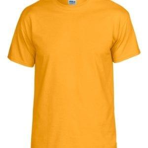 bulk custom shirts gildan g800 50-50 5.5 oz personlized t-shirts gold