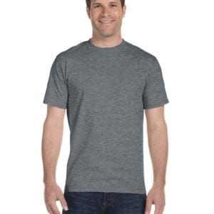 bulk custom shirts gildan g800 50-50 5.5 oz personlized t-shirts graphite