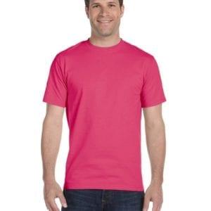 bulk custom shirts gildan g800 50-50 5.5 oz personlized t-shirts heliconia