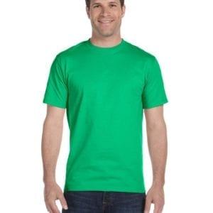 bulk custom shirts gildan g800 50-50 5.5 oz personlized t-shirts irish green