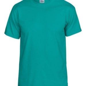 bulk custom shirts gildan g800 50-50 5.5 oz personlized t-shirts jade dome