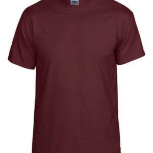 bulk custom shirts gildan g800 50-50 5.5 oz personlized t-shirts marron