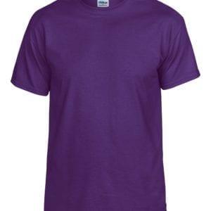 bulk custom shirts gildan g800 50-50 5.5 oz personlized t-shirts purple