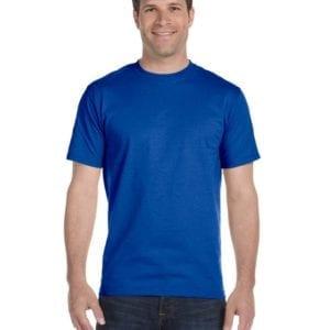 bulk custom shirts gildan g800 50-50 5.5 oz personlized t-shirts royal