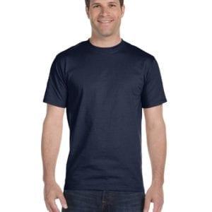 bulk custom shirts gildan g800 50-50 5.5 oz personlized t-shirts sport dark navy