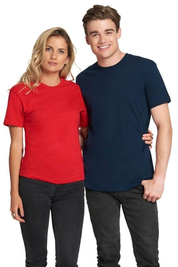 bulk custom shirts next level 3600 unisex cotton 4.3 oz custom t shirt