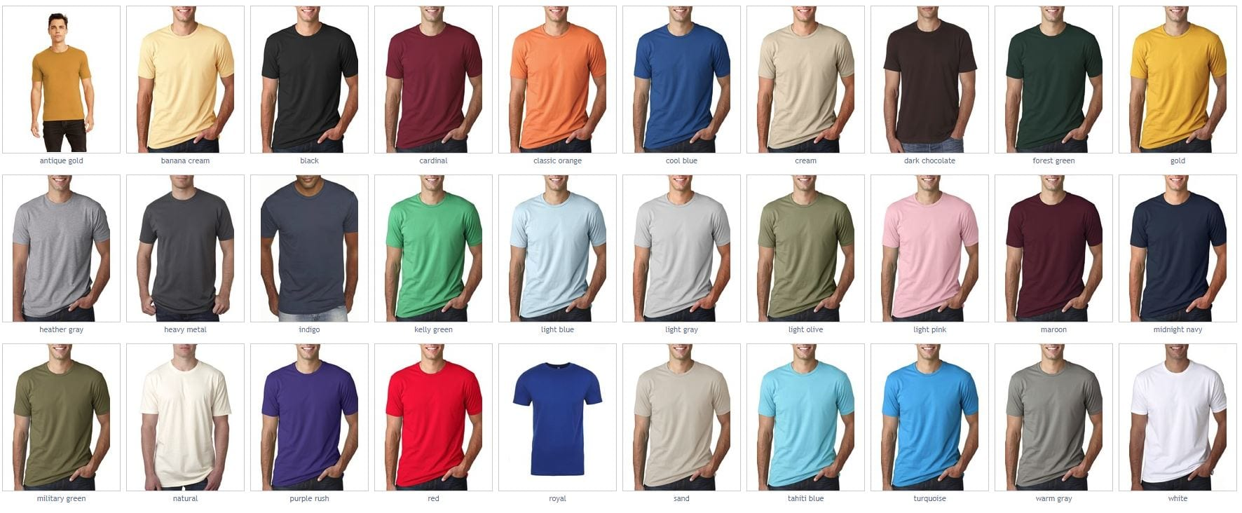 good texture big clearance sale discount up to 60% Next Level 3600 Unisex Cotton 4.3oz T-Shirt - Bulk Custom Shirts