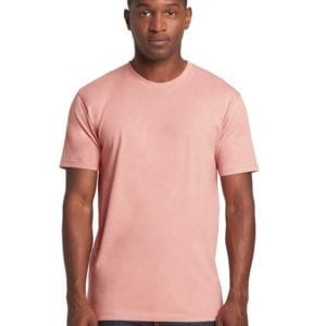 bulk custom shirts next level 3600 unisex cotton 4.3 oz custom t shirt desert pink