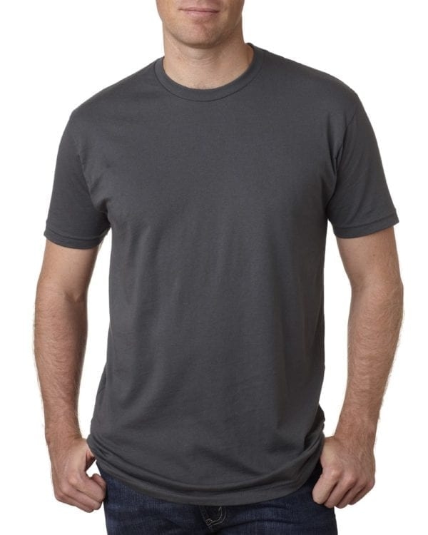 bulk custom shirts next level 3600 unisex cotton 4.3 oz custom t shirt heavy metal