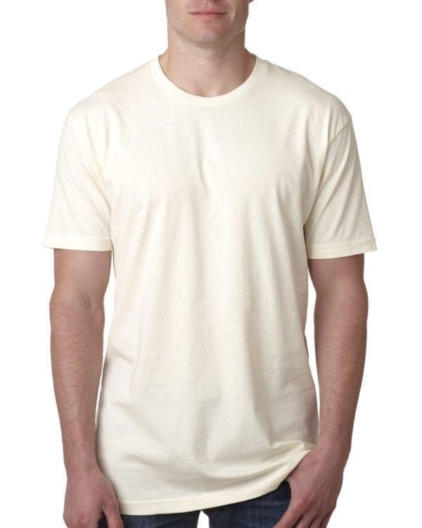 bulk custom shirts next level 3600 unisex cotton 4.3 oz custom t shirt natural