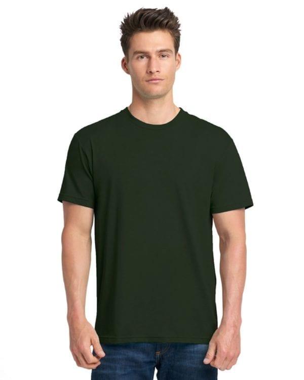 bulk custom shirts next level 6010 custom triblend crew 4.3 oz t shirt black forest
