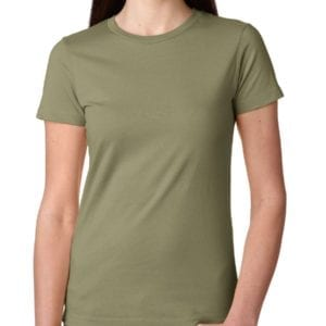 bulk custom shirts next level n3900 ladies boyfriend personalized wholesale comfortable shirt light olive