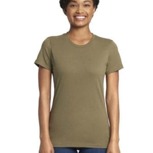bulk custom shirts next level n3900 ladies boyfriend personalized wholesale comfortable shirt military green