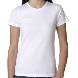 bulk custom shirts next level n3900 ladies boyfriend personalized wholesale comfortable shirt white