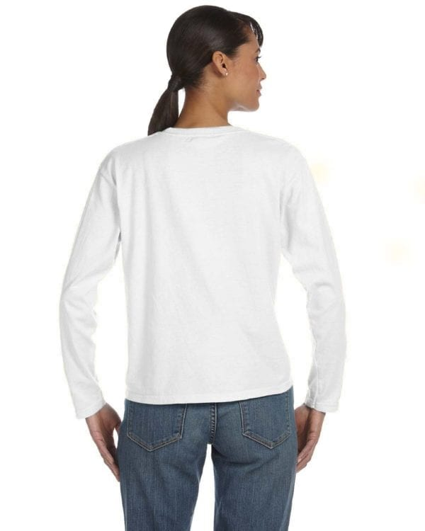 comfort color c3014 custom long sleeve shirt bulk custom shirts white (2)