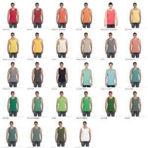 comfort colors c9360 heavyweight tank top colors 2