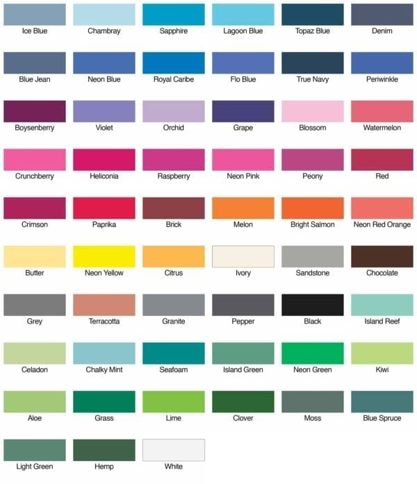 comfort colors c9360 heavyweight tank top colors