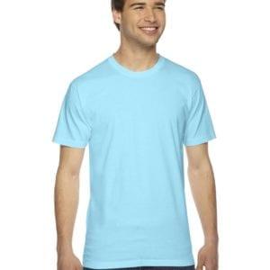 custom american apparel 2001w custom jersey short sleeve shirt aqua