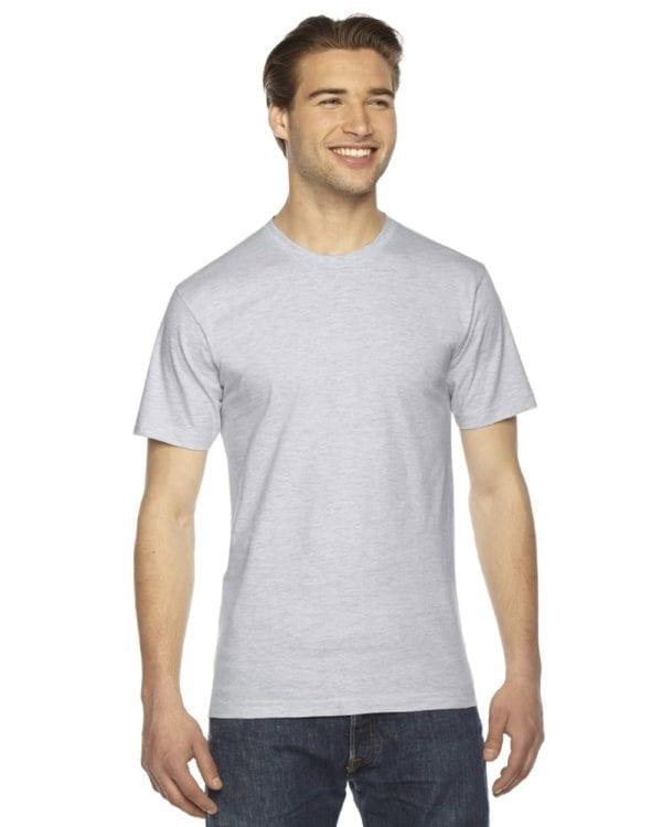 custom american apparel 2001w custom jersey short sleeve shirt ash grey