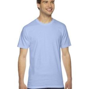 custom american apparel 2001w custom jersey short sleeve shirt baby blue