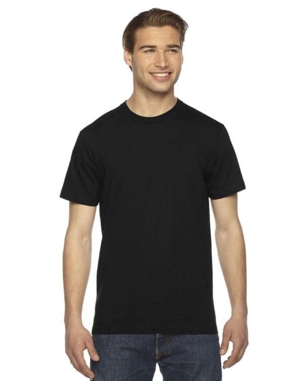 custom american apparel 2001w custom jersey short sleeve shirt black