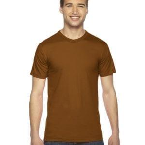 custom american apparel 2001w custom jersey short sleeve shirt camel