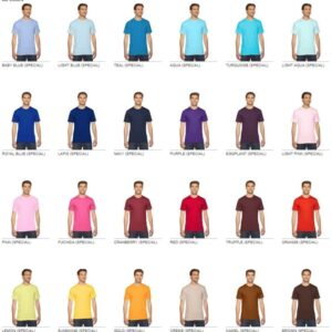 custom american apparel 2001w custom jersey short sleeve shirt colors 1
