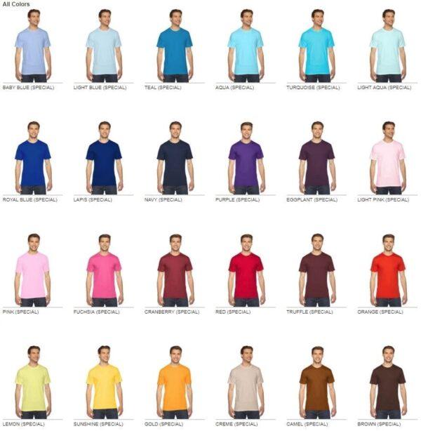d75cc49e custom american apparel 2001w custom jersey short sleeve shirt colors 1