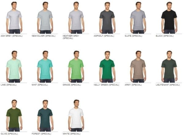 custom american apparel 2001w custom jersey short sleeve shirt colors2