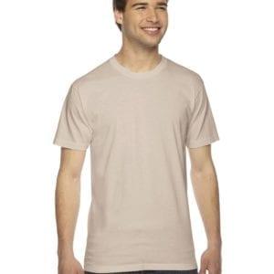 custom american apparel 2001w custom jersey short sleeve shirt creme