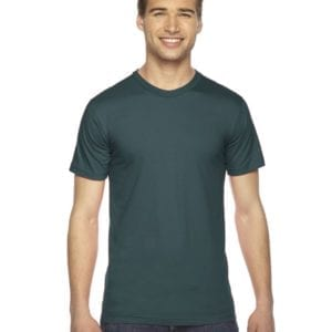 custom american apparel 2001w custom jersey short sleeve shirt forest