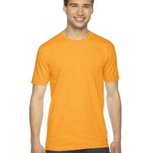 custom american apparel 2001w custom jersey short sleeve shirt gold