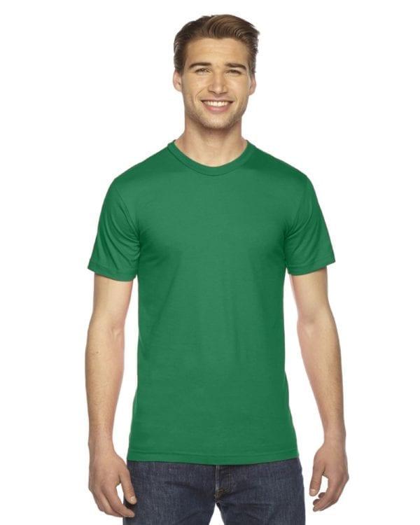 custom american apparel 2001w custom jersey short sleeve shirt kelley green