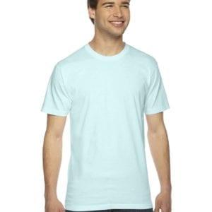 custom american apparel 2001w custom jersey short sleeve shirt light blue