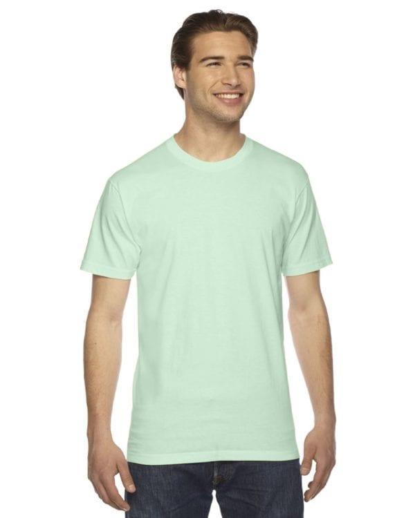 custom american apparel 2001w custom jersey short sleeve shirt lime