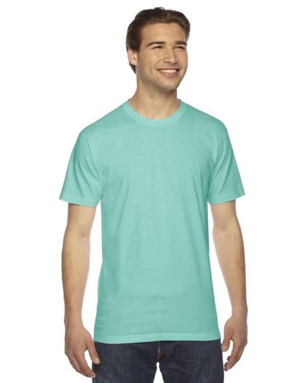 custom american apparel 2001w custom jersey short sleeve shirt mint