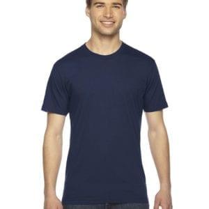 custom american apparel 2001w custom jersey short sleeve shirt navy