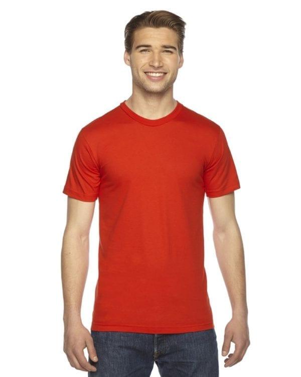 custom american apparel 2001w custom jersey short sleeve shirt orange