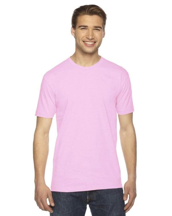 custom american apparel 2001w custom jersey short sleeve shirt pink