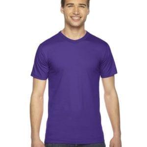 custom american apparel 2001w custom jersey short sleeve shirt purple