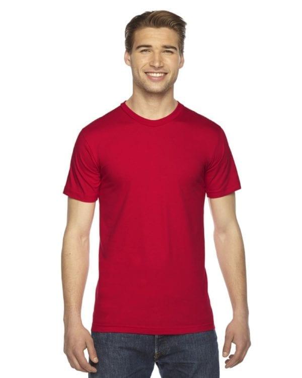 custom american apparel 2001w custom jersey short sleeve shirt red (2)