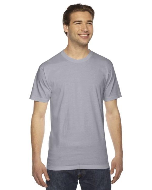 custom american apparel 2001w custom jersey short sleeve shirt slate